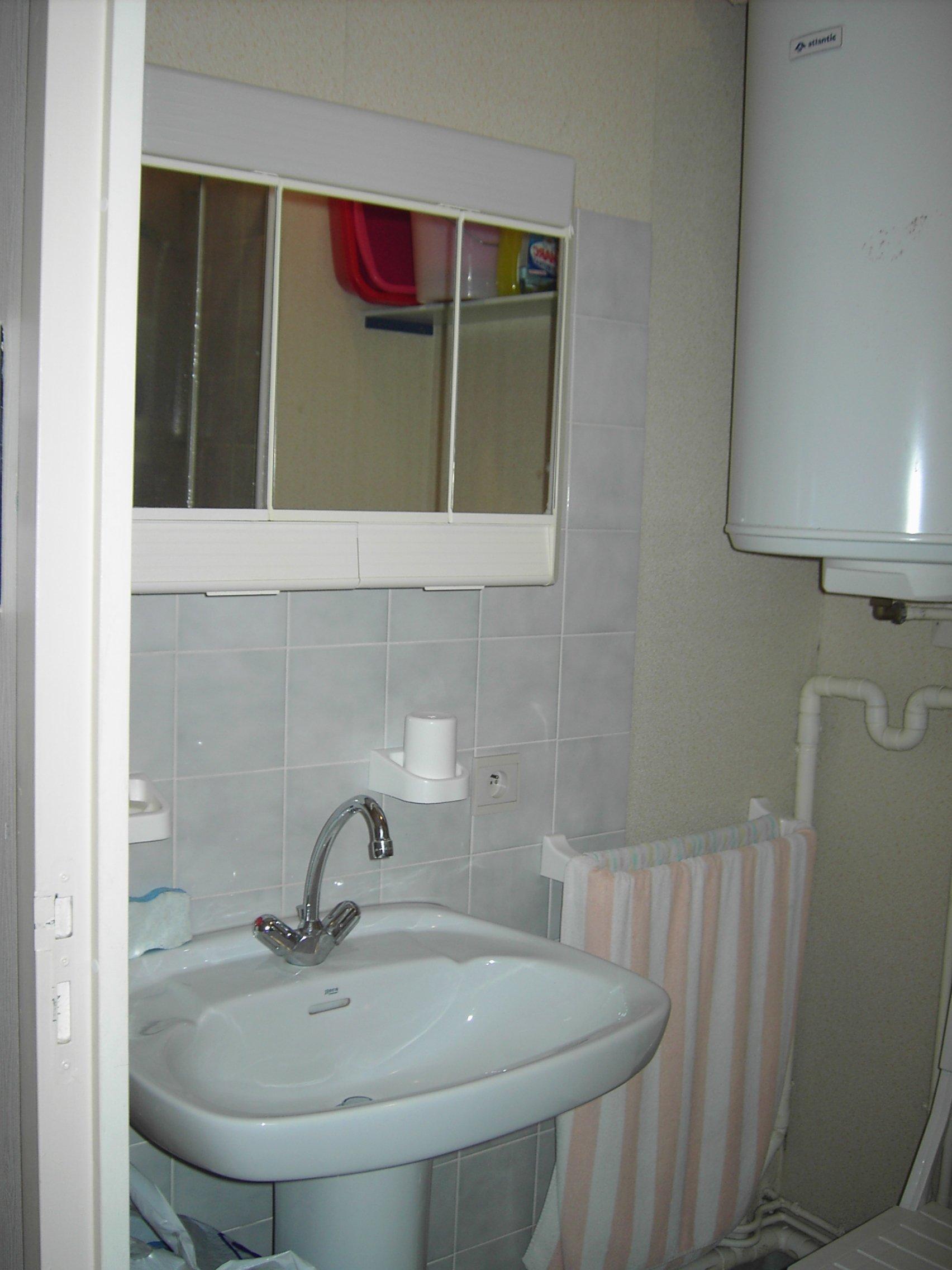 Côté lavabo...