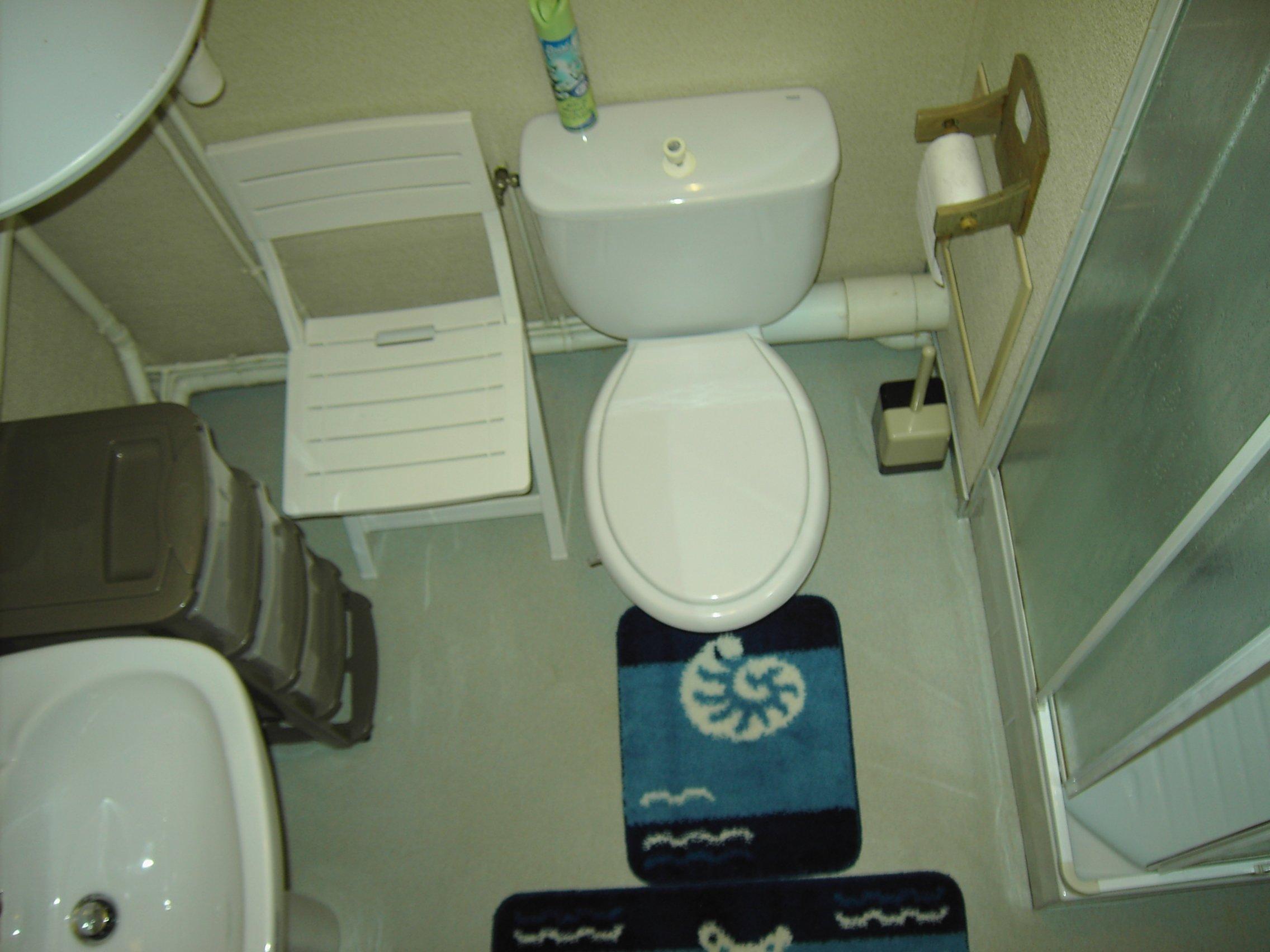 La Salle d'eau - Vue du dessus -